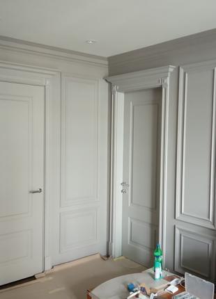 Качественная покраска стен и потолков безвоздушным краскопультом!