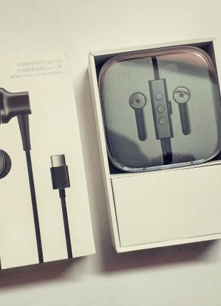 Наушники Xiaomi Mi In-ear headphones Noise Reduction Type-C