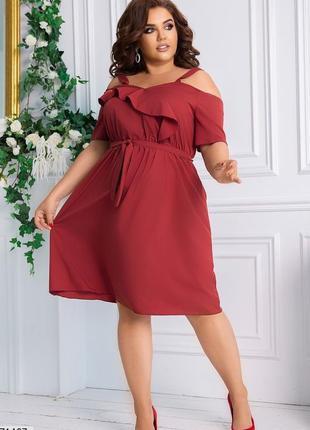 Распродажа платье женское большого размера, жіноче плаття батал