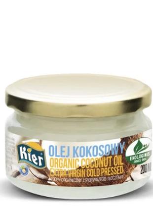 Кокосовое масло натуральное нерафинированное холодного отжимa