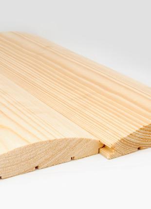 Деревянный блок хаус сосна (сосновый) купить от производителя опт