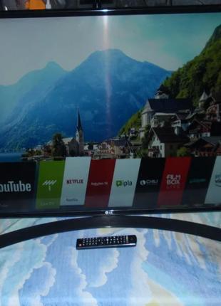 Телевизор LG 43UJ635v (PMI 1600 Гц, 4K Ultra HD, Smart TV, Wi-Fi,