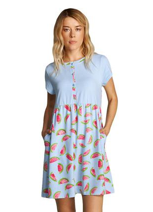 Женское летнее платье для дома и отдыха