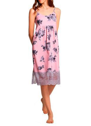 Женская сорочка тм ellen. женская ночная сорочка. одежда для дома