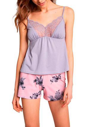 Домашний комплект ellen. женская пижама. одежда для дома