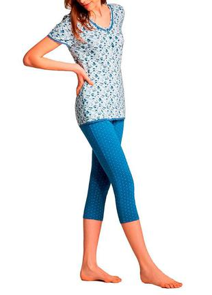 Пижама женская ellen. одежда для дома.