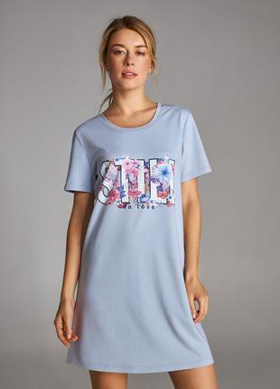 Женская сорочка ellen. ночная рубашка. одежда для дома.