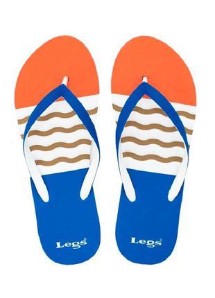 Женские пляжные сланцы legs. l2002 wave