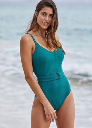Женский зеленый слитный купальник ysabel mora 81360
