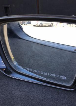 Водительское боковое зеркало заднего вида Hyundai Grandeur 2012-2