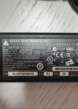 Оригинальная зарядка / блок питания Asus 65W 19V 3.42A (5,5*2,5)