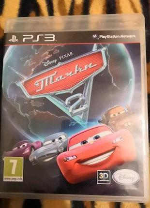 Диск Cars 2 - Тачки 2 на PS 3 ( Русская , Лицензия )