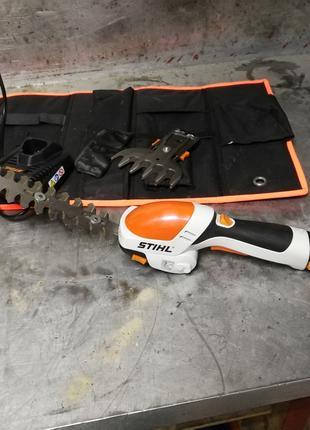 Аккумуляторные ножницы + кусторез Stihl HSА 25