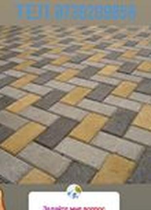 Укладка тротуарной плитки любых видов