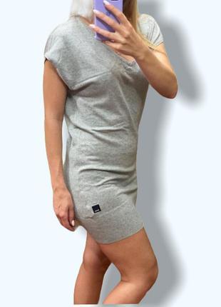 Фирменное платье туника из хлопкового трикотажа