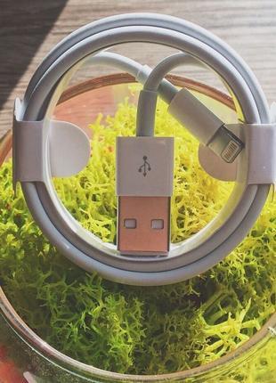 Оригинальный кабель шнур зарядка на для айфон iphone 5/6s/7/8/10(