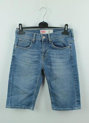 Оригинальные джинсовые шорты levis 511 slim fit