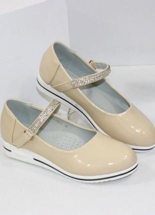 Красивые туфельки в школу