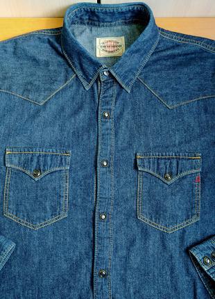 Рубашка джинсовая REPLAY® original XL б.у. Y8-G8-4