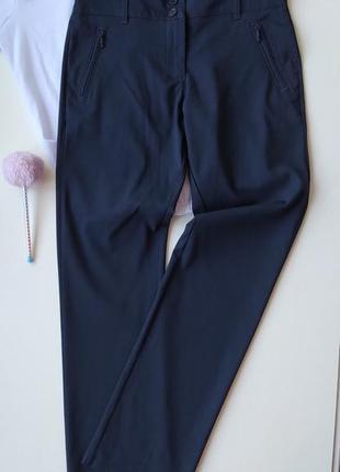 Школьные узкие синие брюки m&s р.11-12