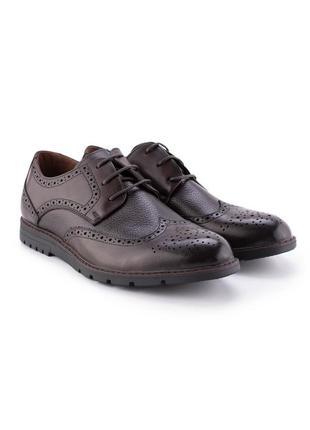 Мужские коричневые туфли