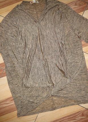 Блуза-туника большого размера