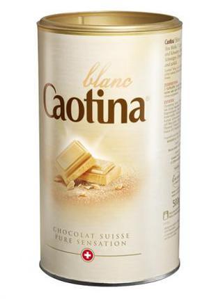 Caotina Blanc белый горячий шоколад 500g