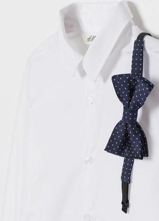 Комплект из рубашки и бабочки для мальчика h&m