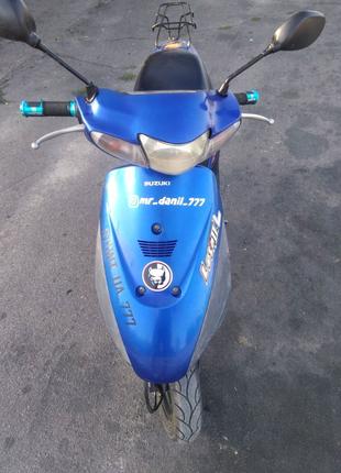 Возможен обмен! Suzuki lets 2L бабочка