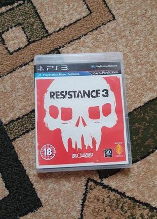 Игра Resistance 3 (PS3)