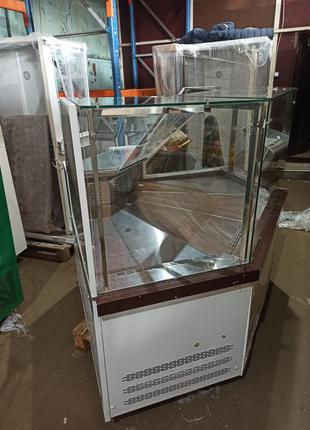 Универсальная витрина Миссури бу,линия 4м, Холодильная витрина бу