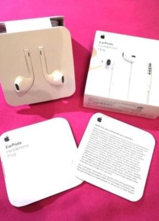 Оригинальные наушники EarPods для IPhone 5/5s/6/6s/6+/7/7+