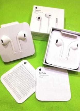 Оригинальные наушники EarPods for Iphone 5/5s/6/6s/6+/7/7+