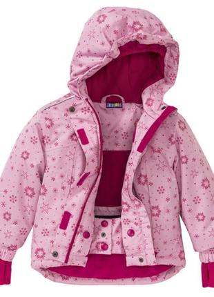 Зимняя термо куртка crivit pro 98/104 см
