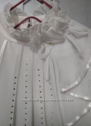 Блузка девочке, можно для школы, р.122-128