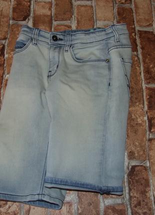 Джинсовые шорты бермуды мальчику 12 лет mtc