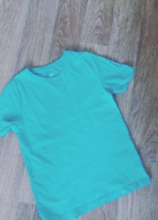 Н&М футболка на 6-8 лет 122-128см