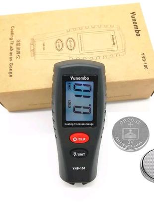 Толщиномер,товщиномір  Yunombo ynb-100 (с подсветкой)+батарейки
