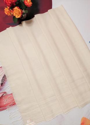 Палантин cashmere company, шерсть и натуральный шелк
