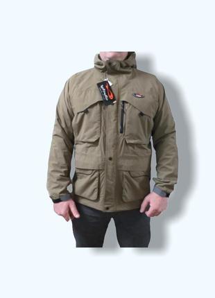 Мужская куртка парка ветровка дождевик хака total fishing gear