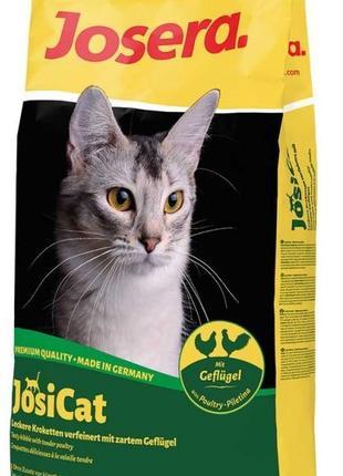 Корм для кошек и котов Йозикет Гефлюгель JosiCat Geflugel 10 кг