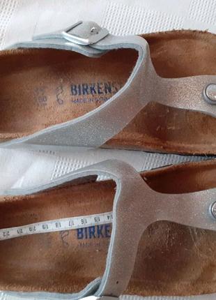 Birkenstock ортопедические шлепки шлепанцы шльопанці р. 39 на 25