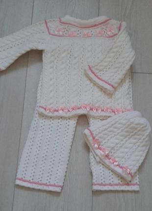 Костюм для девочки 9-12 месяцев