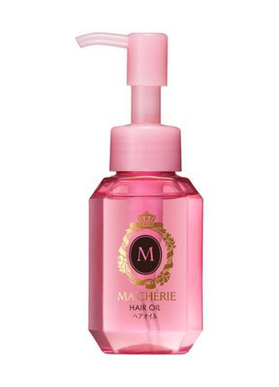 Масло для волос shiseido ma cherie hair oil, 60 мл