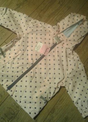 Куртка демисезон ветровка детская на девочку (сток новая)