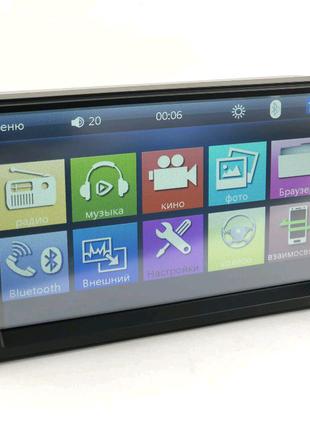 Автомагнитола 2DIN 7010b / Bluetooth  /USB/SD/просмотр видео