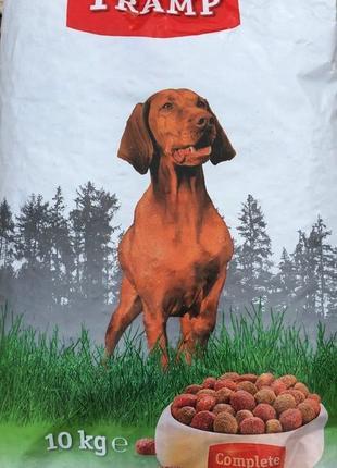 Cухой корм для взрослых собак 10 кг Tramp Complete menu