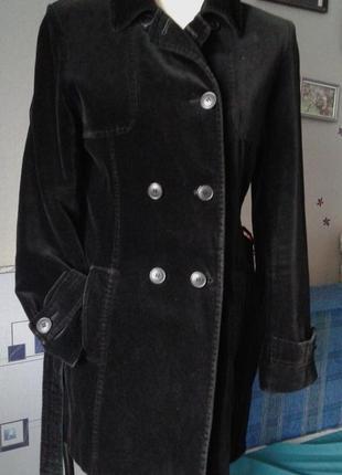 Велюровый пиджак-жакет р 46-44-винтаж.стильно модно неоридинарно