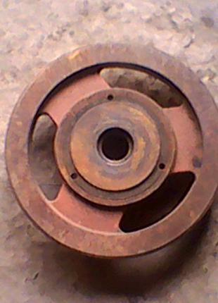 Шкив 362 мм. дырка 46 мм. профиль В.
