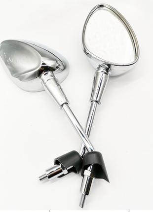Мото Зеркала Левый + Правый (Хром) CB400 10++ Комплект